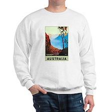 Australia Travel Poster 19 Sweatshirt