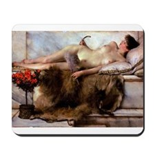 Alma-Tadema - Tepidarium Mousepad