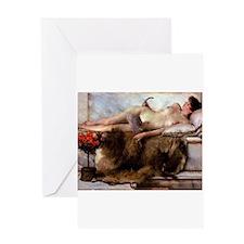 Alma-Tadema - Tepidarium Greeting Card