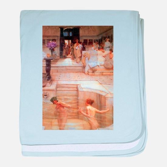 Alma-Tadema - Fav. Custom baby blanket