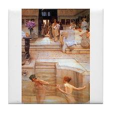 Alma-Tadema - Fav. Custom Tile Coaster