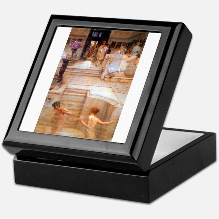Alma-Tadema - Fav. Custom Keepsake Box