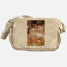 Alma-Tadema - Fav. Custom Messenger Bag