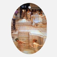 Alma-Tadema - Fav. Custom Ornament (Oval)