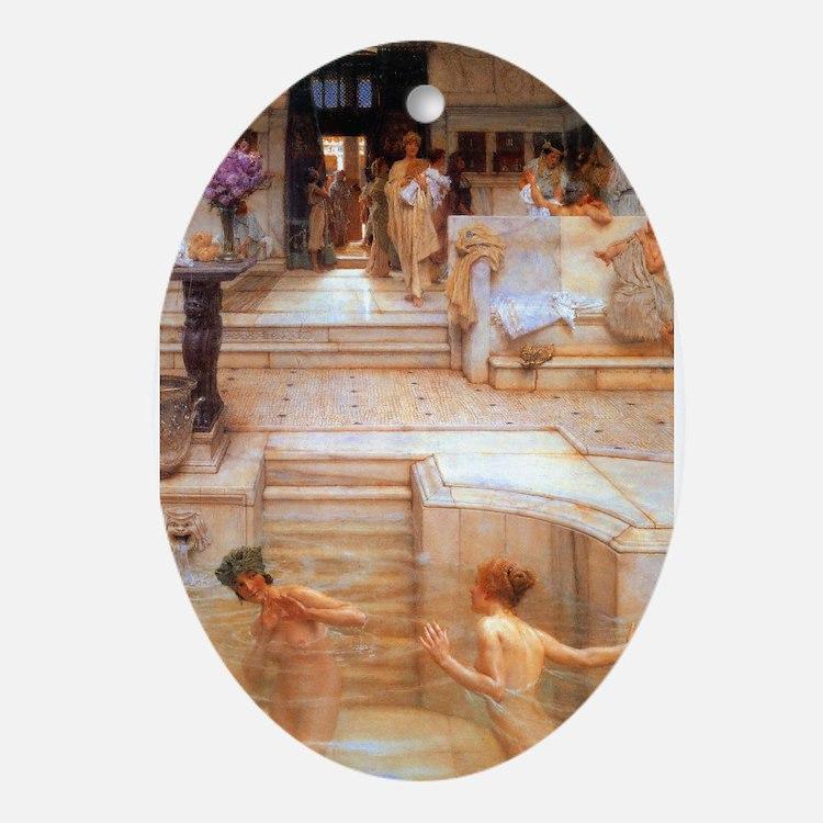 Alma-Tadema - Fav. Custom Ornament (Oval)