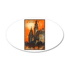 Poland Travel Poster 1 Wall Decal