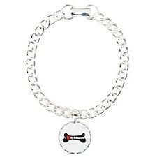 I Love My Schnauzer - Dog Bone Bracelet