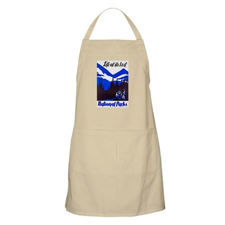 National Parks Travel Poster 4 Apron