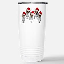 belle-santa-yardsign.png Travel Mug