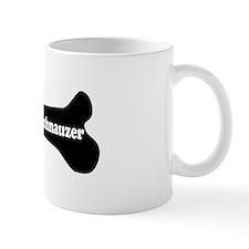I Love My Schnauzer - Dog Bone Mug