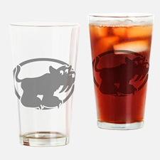 Sabertooth Tiger Drinking Glass