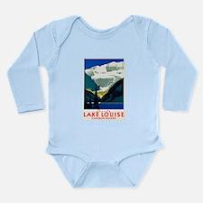 Canada Travel Poster 6 Long Sleeve Infant Bodysuit