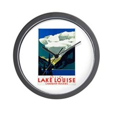 Canada Travel Poster 6 Wall Clock