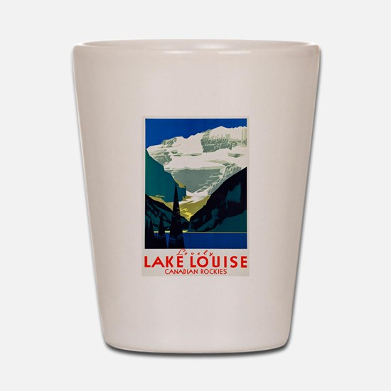 Canada Travel Poster 6 Shot Glass