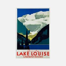 Canada Travel Poster 6 Rectangle Magnet