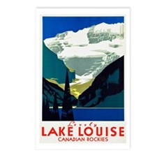 Canada Travel Poster 6 Postcards (Package of 8)