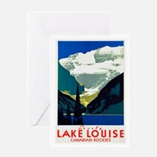 Canada Travel Poster 6 Greeting Card
