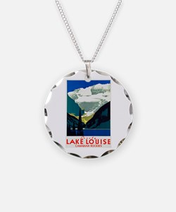 Canada Travel Poster 6 Necklace
