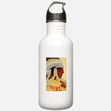 Old West Travel Poster 3 Water Bottle