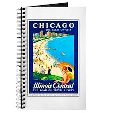 Chicago Travel Poster 1 Journal