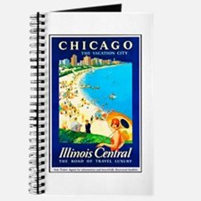 Chicago Travel Poster 1 Journal