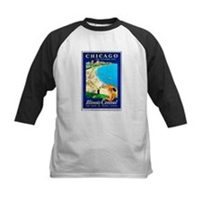 Chicago Travel Poster 1 Tee