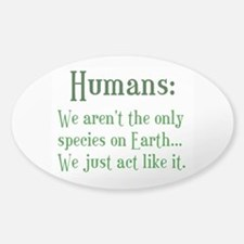 Humans Decal