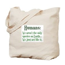 Humans Tote Bag