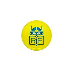 RIF Girl Superhero Mini Button