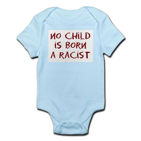 No Child Infant Bodysuit