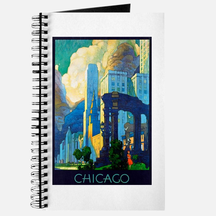 Chicago Travel Poster 3 Journal