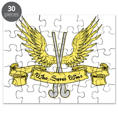 Who Saves Wins, Field Hockey Puzzle