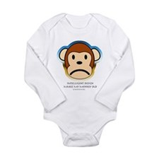 Cute Nature is my religion Long Sleeve Infant Bodysuit