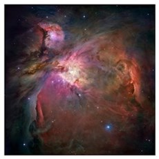 Orion nebula (M42 and M43) Poster