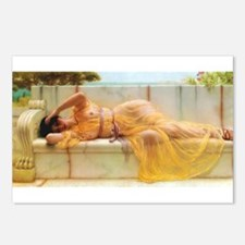 Godward - Girl in Yellow. Postcards (Package of 8)