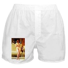 Seignac - Nymph in the Pond Boxer Shorts