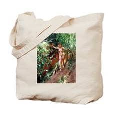 Zorn - Red Sand Tote Bag