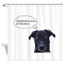Cute Possession Shower Curtain