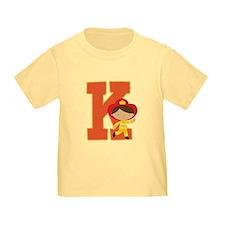 Letter K Firefighter Monogram T