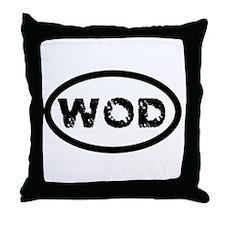 WOD Throw Pillow
