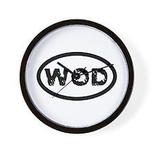 WOD Wall Clock