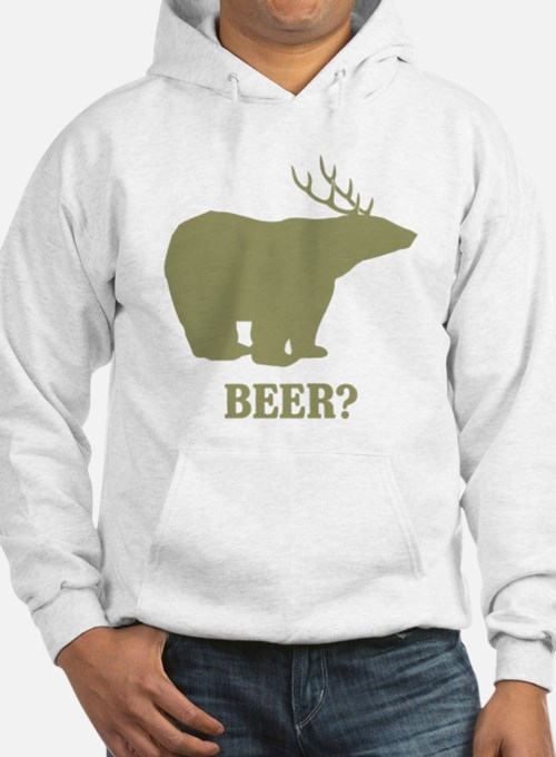Beer Deer Bear Jumper Hoody