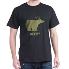 Beer Deer Bear T-Shirt