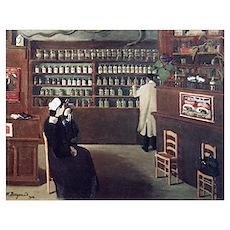 The Pharmacy, 1912 artwork Poster