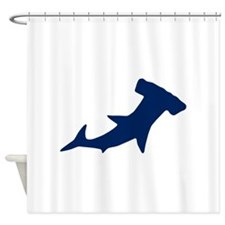 Hammer Head Shark Shower Curtain