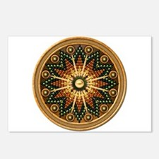 Native American Rosette 01 Postcards (Package of 8