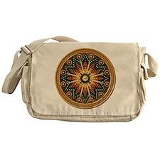 Native American Rosette 01 Messenger Bag