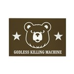 Bears: Godless killing machin Rectangle Magnet