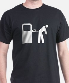 FILL'er UP! Black T-Shirt