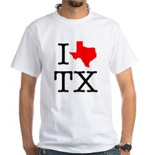 I Love TX Texas Shirt